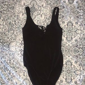 H&M Tops - H&M Divided strappy front bodysuit